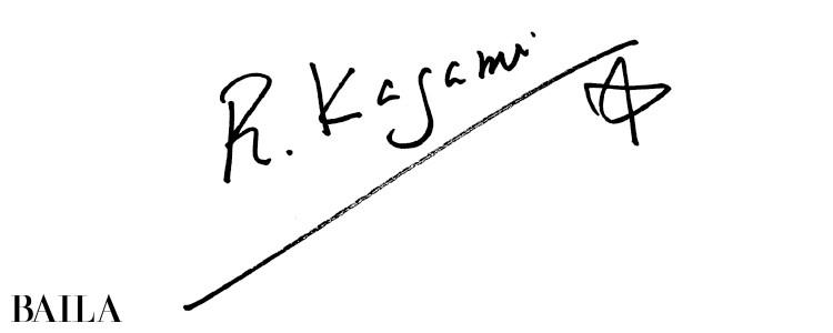 鏡リュウジさんサイン