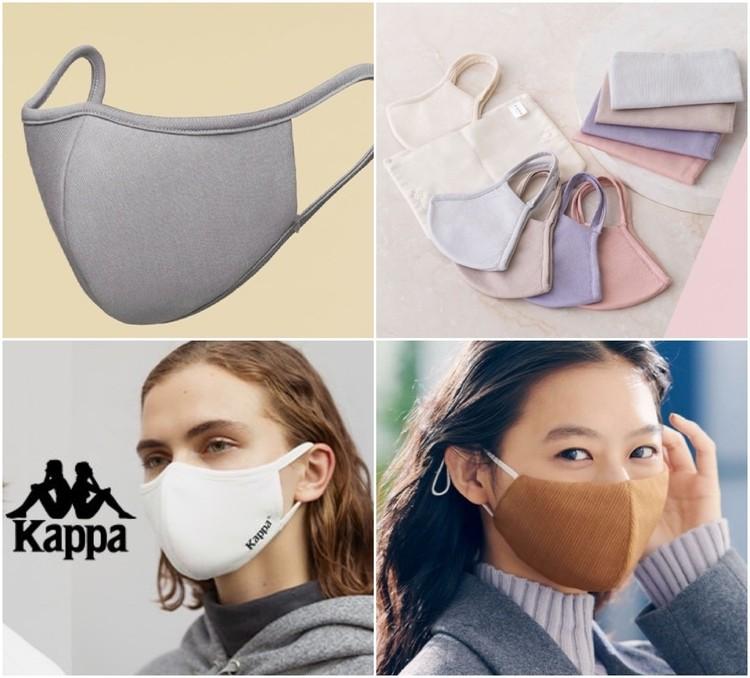 【ジーユー(GU)】から高機能フィルター搭載おしゃれマスク4種登場、10月30日(金)から順次発売