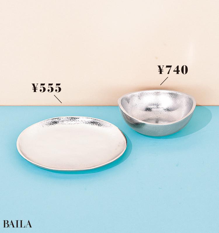 【ニトリ】アンワルプレート、ボウル     ¥555  ¥740