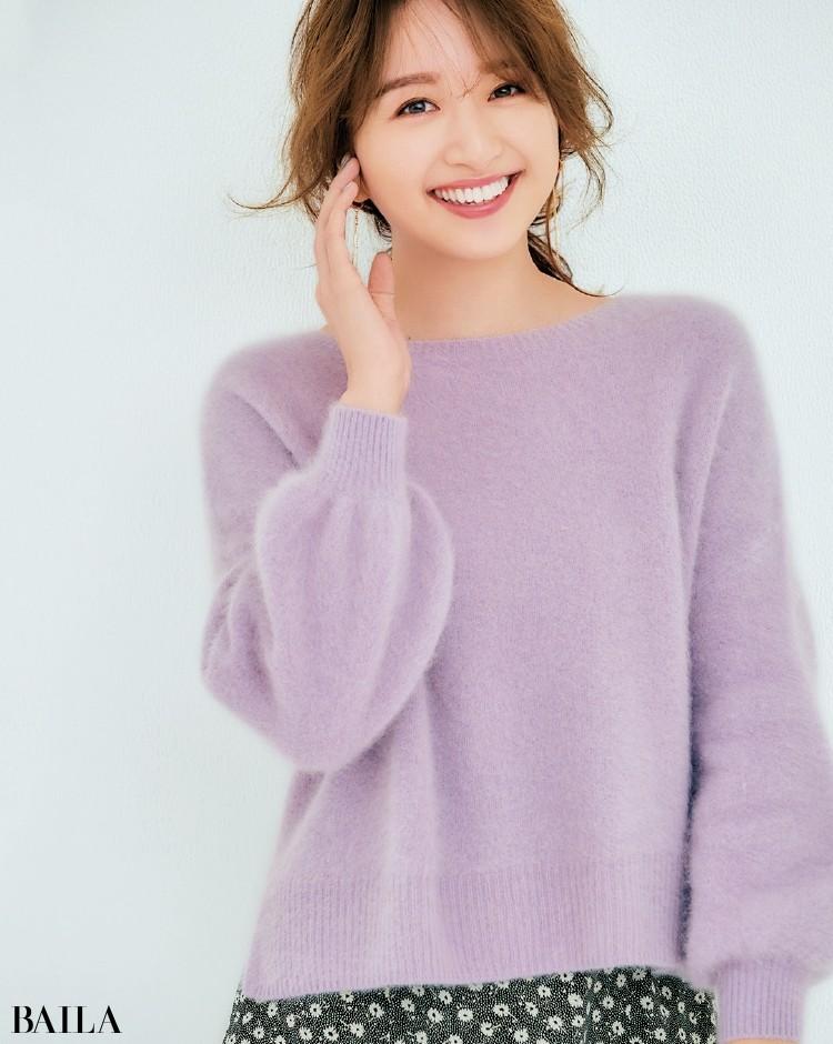 【ゆったりニットまとめ】着やすいミドルゲージニットで、冬おしゃれを楽しもう!_14