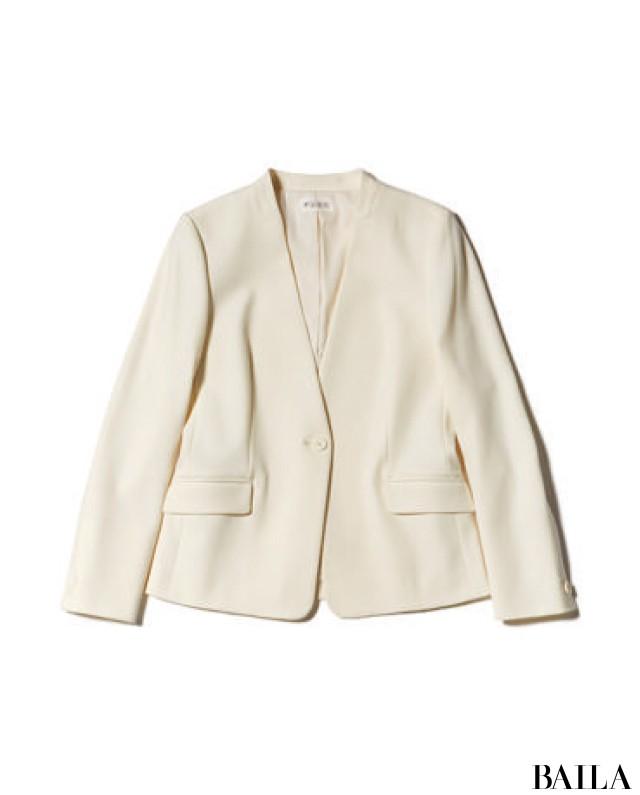 人前に出る日は、好感度色でまとめたジャケットスタイルを【2019/1/28のコーデ】_2_3