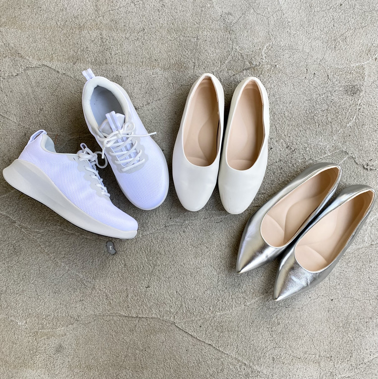 【ユニクロ(UNIQLO)】2021春、ガチで買ってよかった自腹買いヘビロテアイテム&大人レディースコーデ5選 靴 シューズ パンプス スニーカー はきやすい