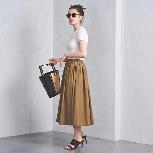 仕事帰りにデートがある日は、肌見せニット×スカートで大人の色気を【2018/6/19のコーデ】_4