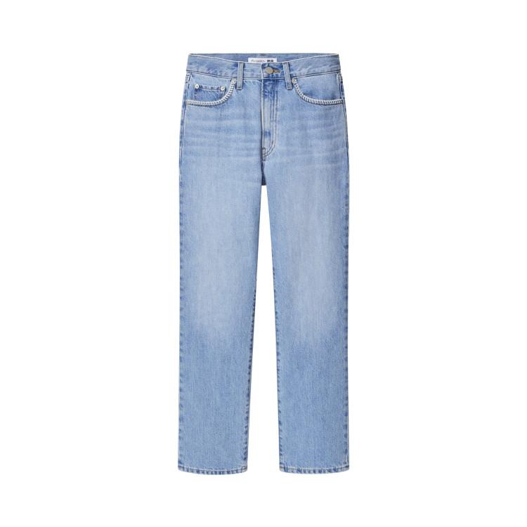 スリムストレートジーンズ¥3990