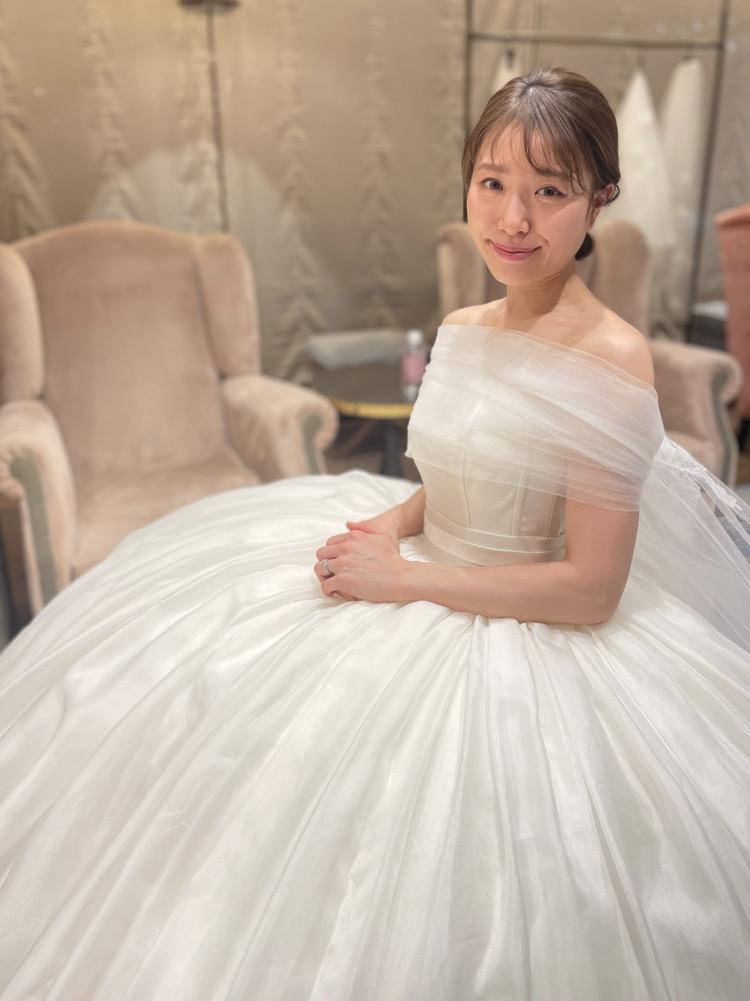 準備再開【パレス花嫁】2021SS新作ドレスを試着しました♡_13