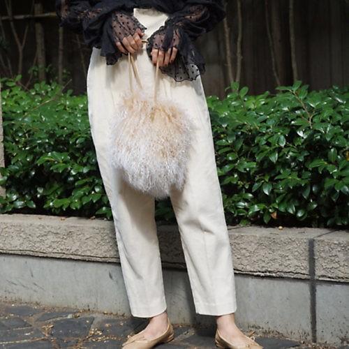 ネイビージャケットを、華やか小物で休日仕様にシフト!_8