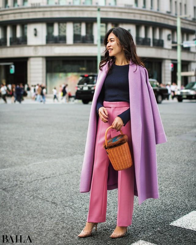 スタイリスト辻直子さんの今年のコートスタイルを私服で拝見_1_1