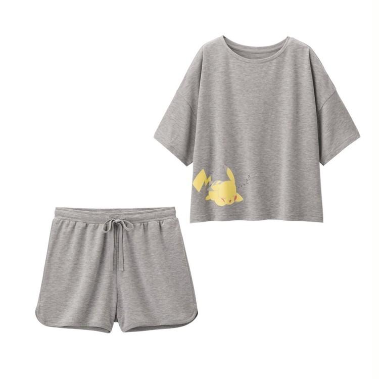 【写真】GU×ポケモンのパジャマ・Tシャツでお家時間を楽しく_2