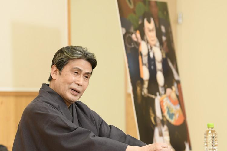 四月大歌舞伎の勧進帳で弁慶を勤める松本白鸚さん
