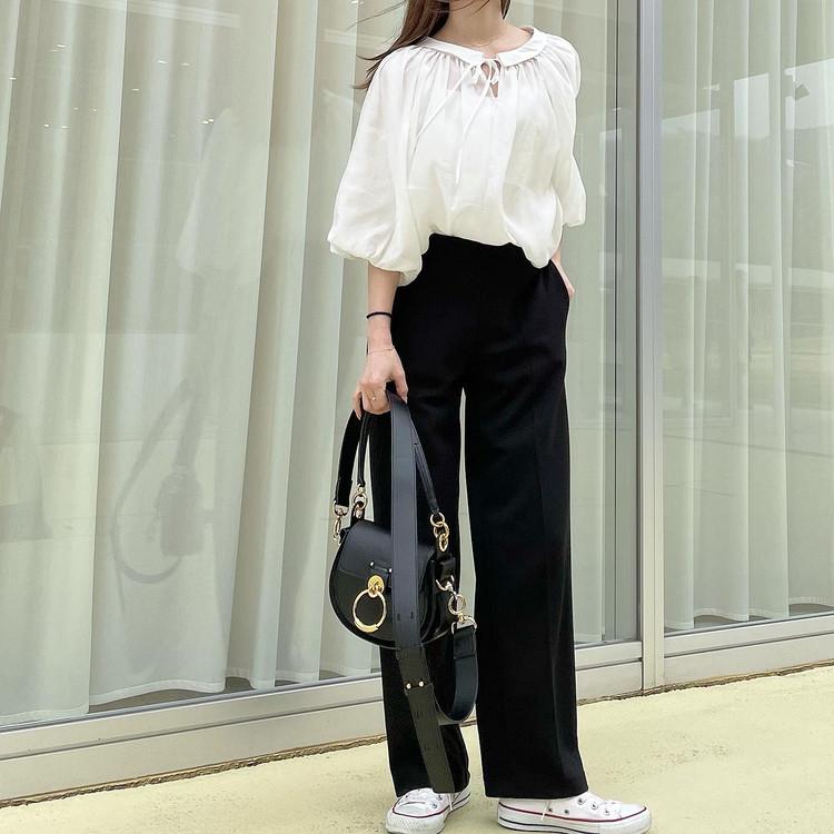 【UNIQLO着回し】楽なのに可愛い「黒パンツ」が1290円_2