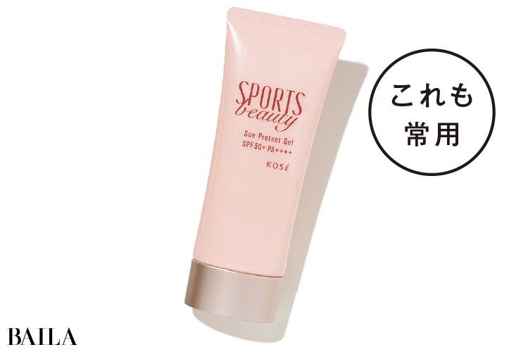 神谷江礼奈さん常用 SPORTS beautyのサンプロテクト ジェル