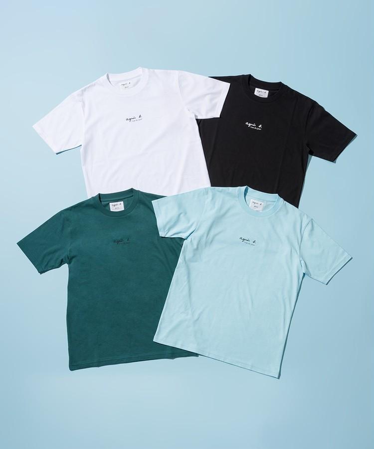 「アダム エ ロペ」と「アニエスベー」の別注ロゴ&Rue du JourTシャツ