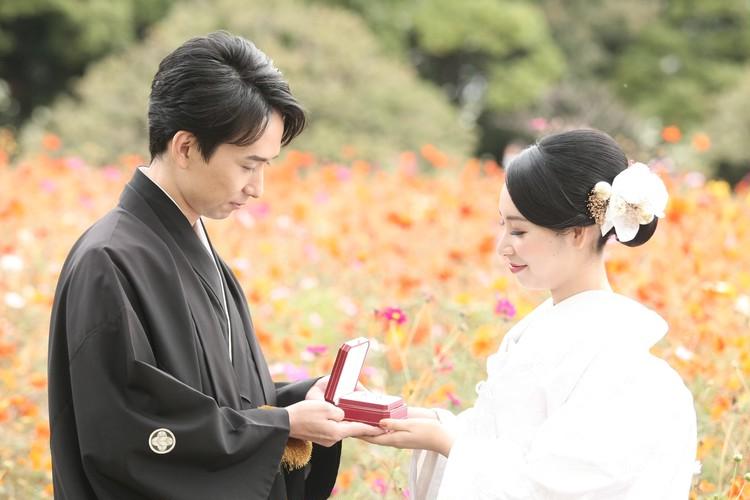 【wedding】和装前撮りレポ〜都内ロケーションフォト〜_9