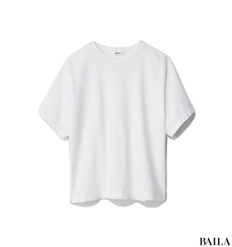 休日の英会話レッスンは、Tシャツ×透け感スカートのリラックスサマーコーデ【2019/8/3のコーデ】_2_2