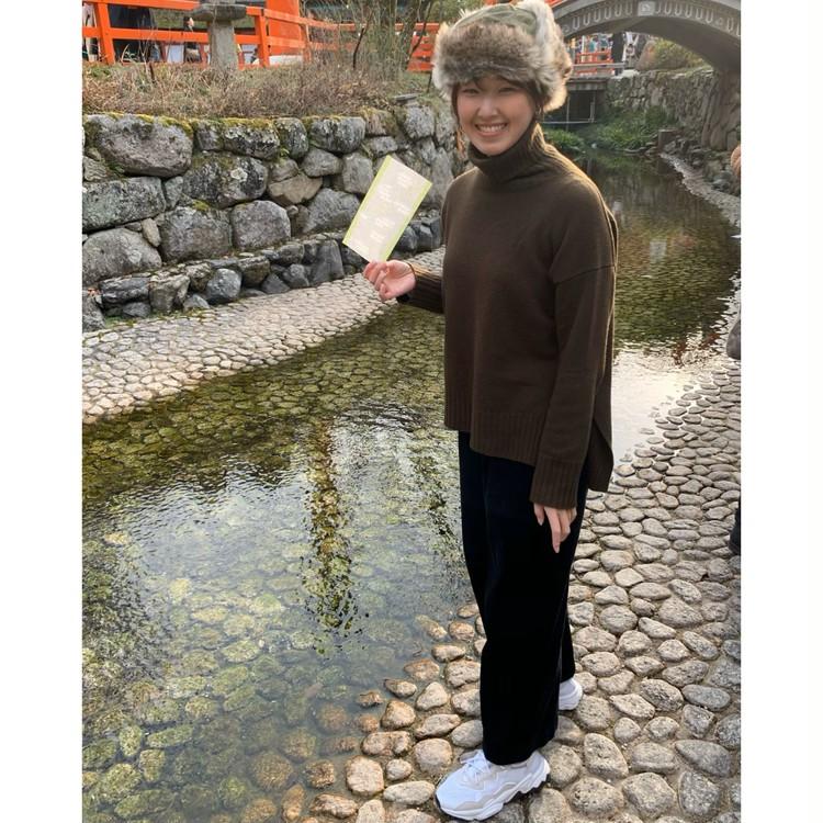 休日コーデ【京都・下鴨神社へ初詣】_3