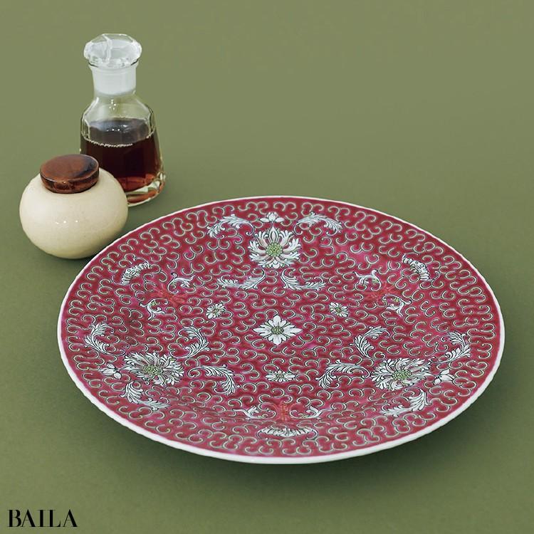 ライター 野崎久実子さんは《ユウオリエンタルの中華皿》