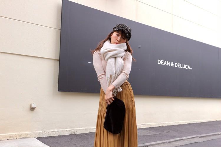 今年は着回力のある服を!今買えば春まで着れるスカートを紹介♡_5