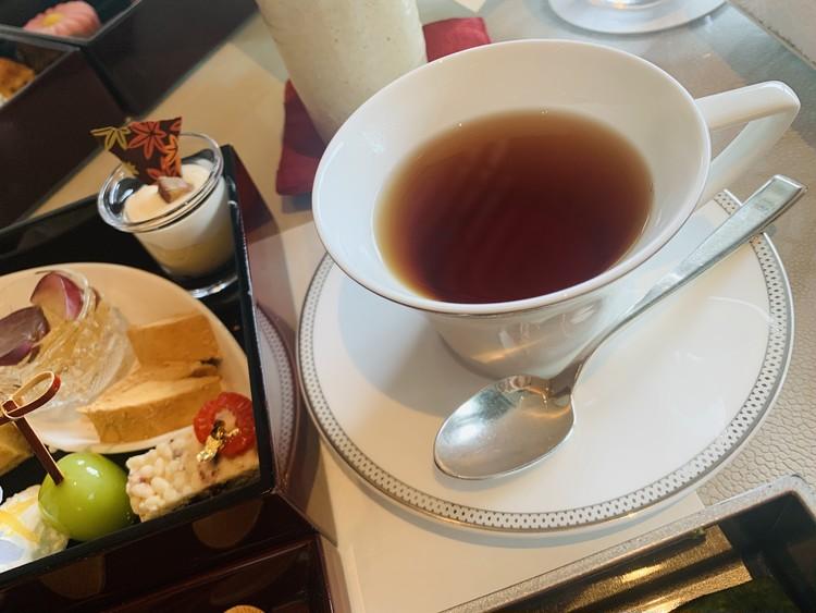 【気分は京都】パレスホテルの和のアフタヌーンティーが美味_5