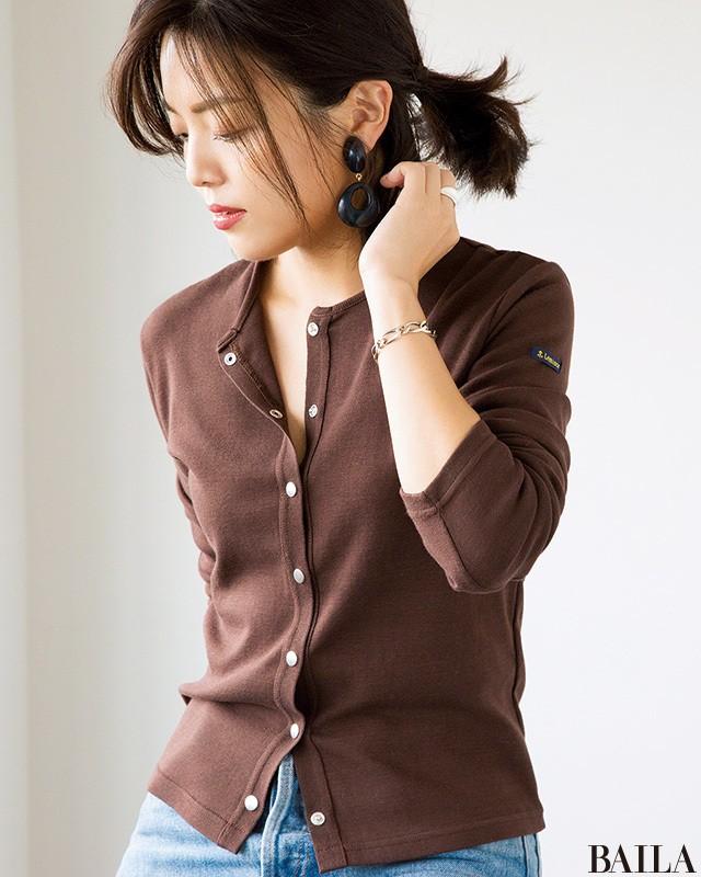 オフィスカジュアルの新定番! きれいめ通勤デニムコーデ30選【30代レディースファッション】_1_28