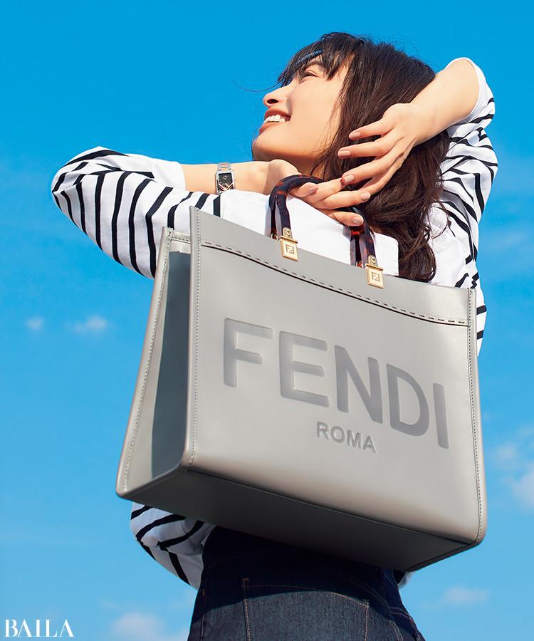 フェンディの「サンシャイン ショッパー ミディアム」