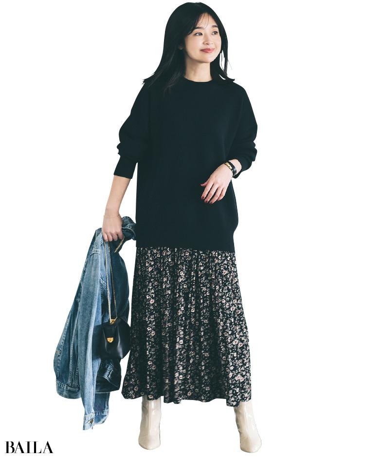 【30代スタイリストが私服でアンサーまとめ】リアルだから役に立つ。その冬服はもっと素敵に着られる!_19