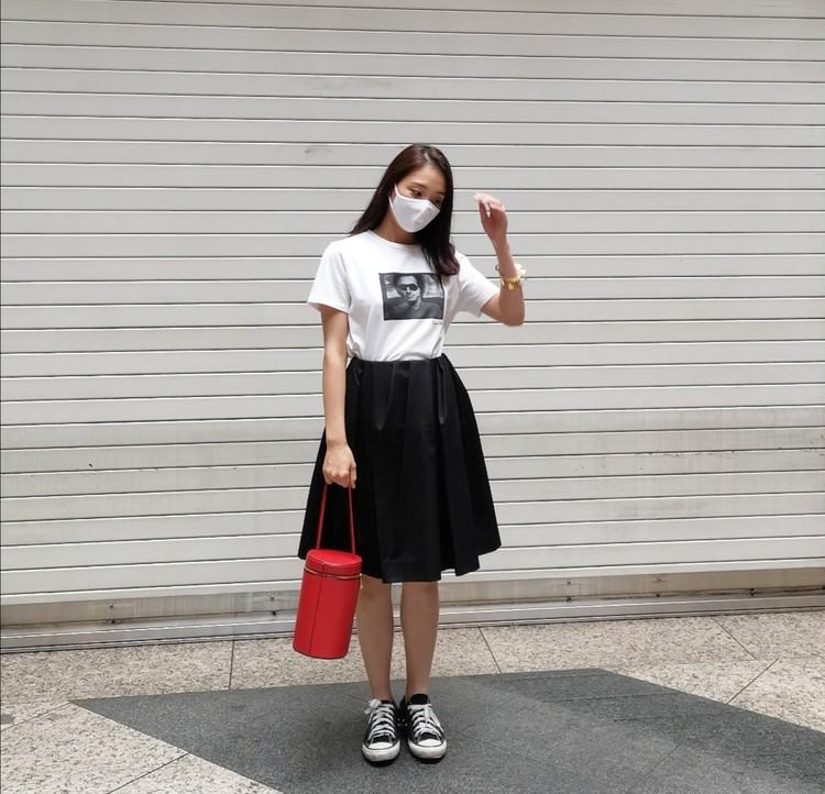 【COS サマーセール】大人のミニスカートコーデ_1
