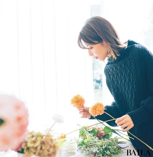 一輪で映える花でホムパの食卓をドレスアップ【カトパンのあえて小さく飾る花レッスン】_1