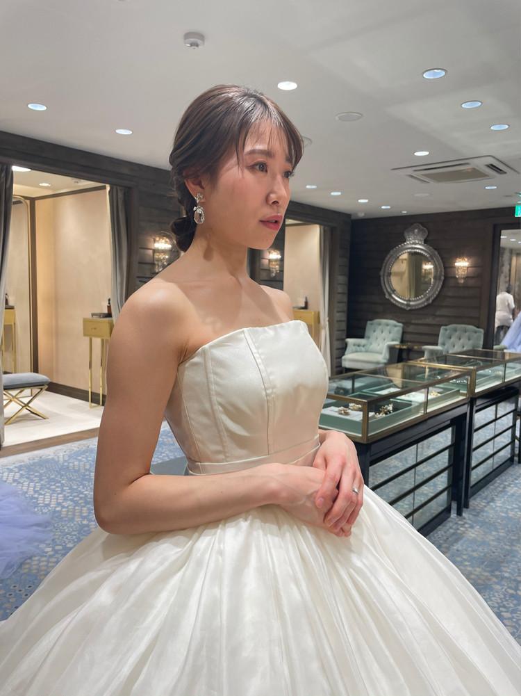 準備再開【パレス花嫁】2021SS新作ドレスを試着しました♡_10