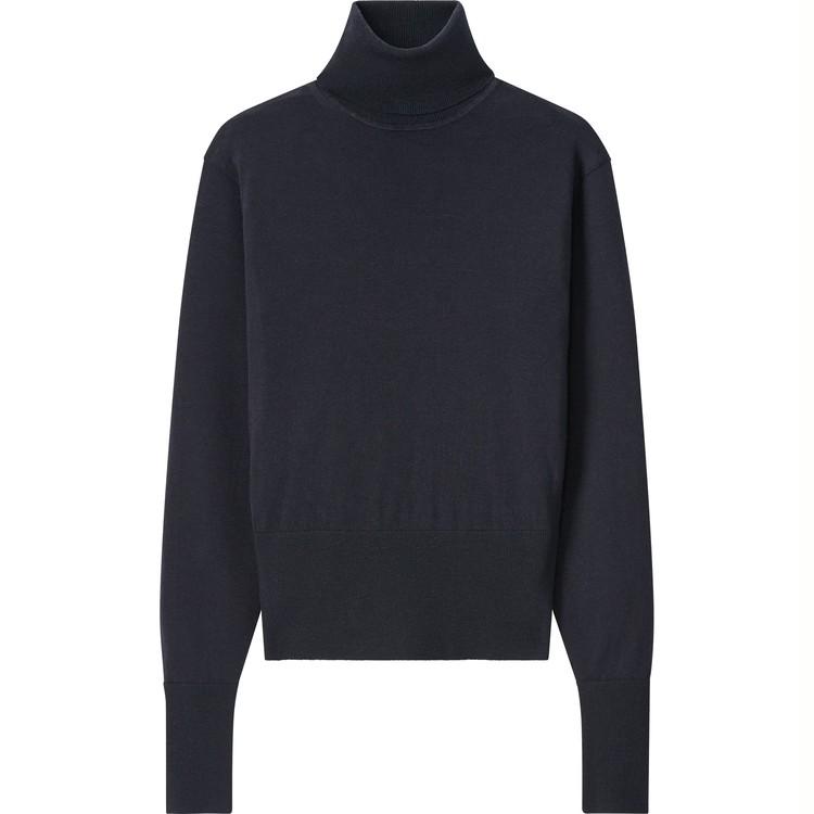 エクストラファインメリノタートルネックセーター(長袖) ¥2,990