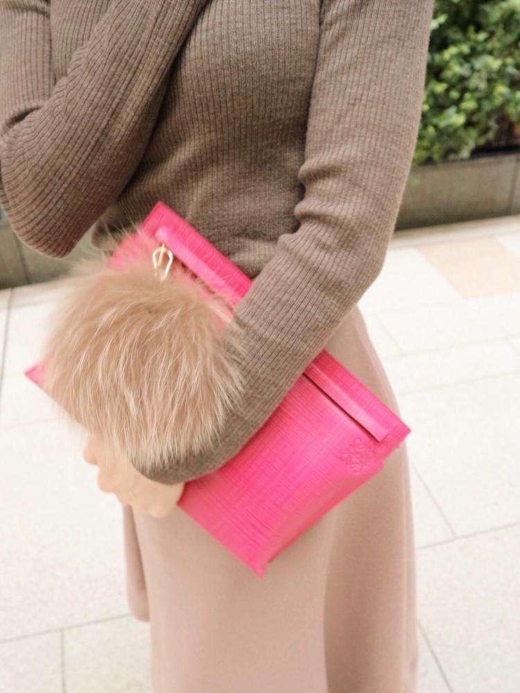 まろやかブラウンコーデ>>モカ×くすみピンクをで女っぽく。_6
