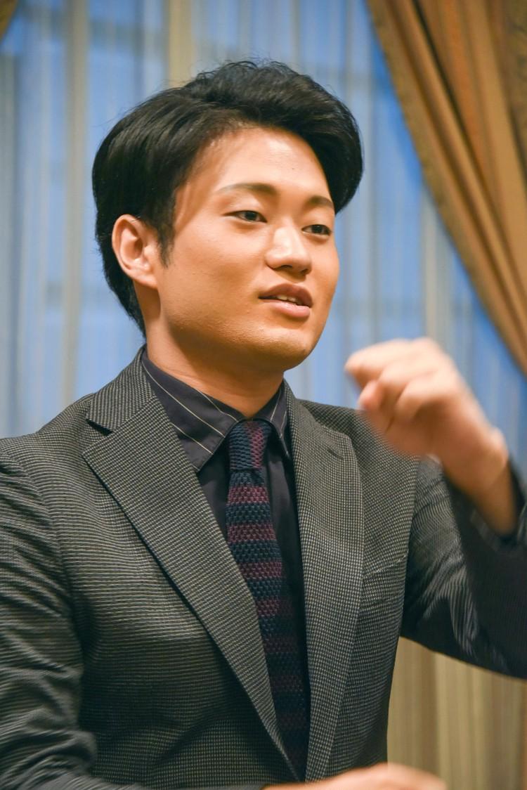 中村福之助さん インタビュー写真