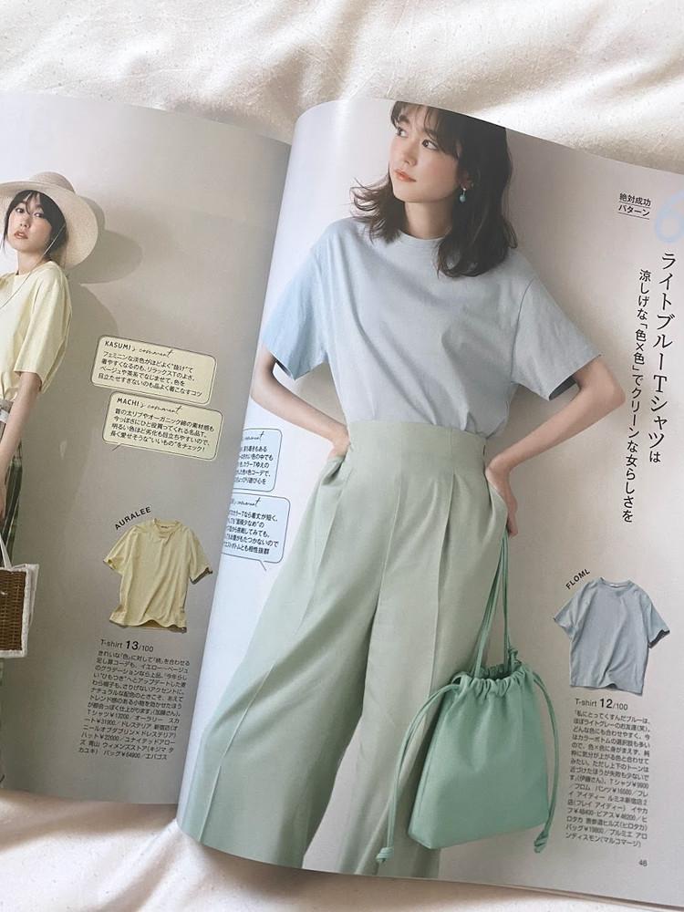 買い物前に必読!【BAILA最新号】で2021夏の主役Tシャツ選び_1_1