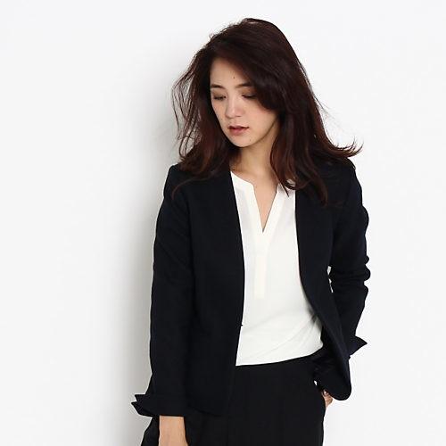 ジャケット&パンツで美女度アップ♡ 腰高クロップトで秋スタイルを更新!_4