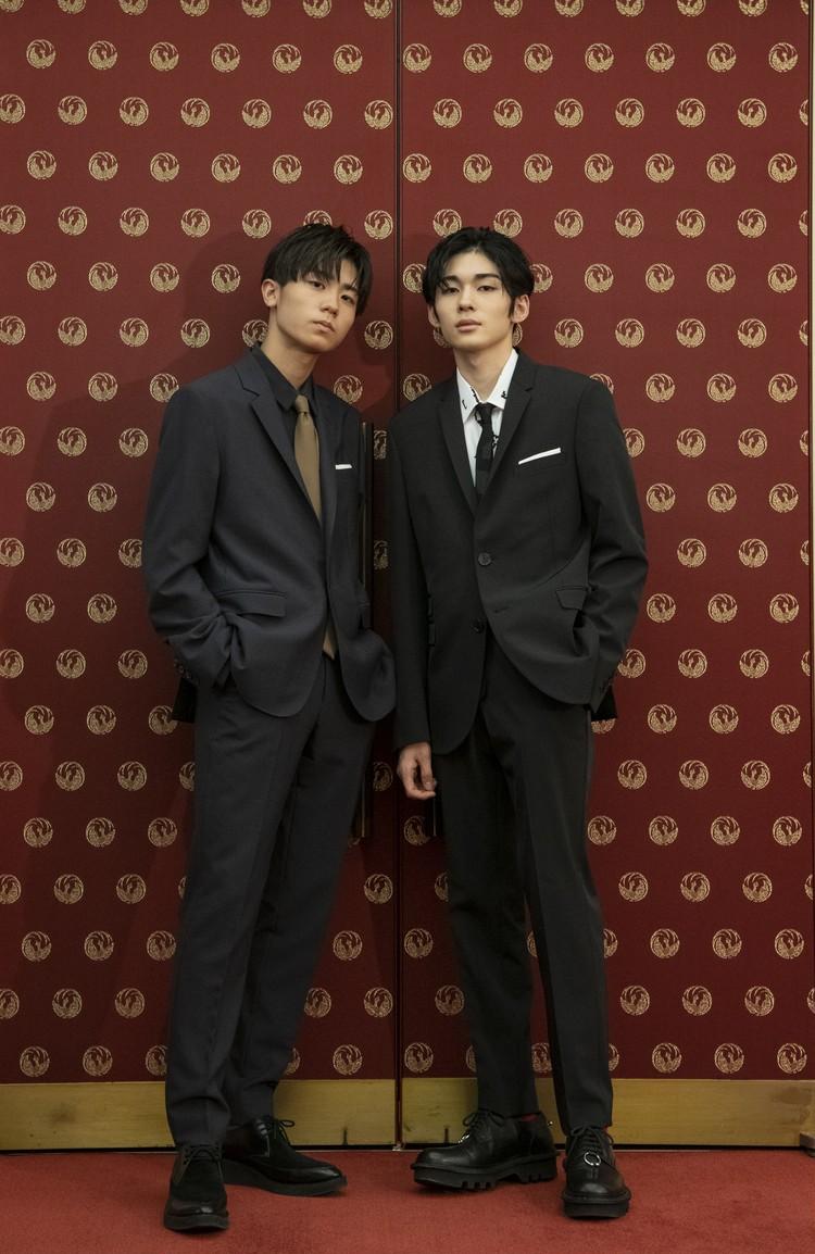 市川染五郎さんと市川團子さん