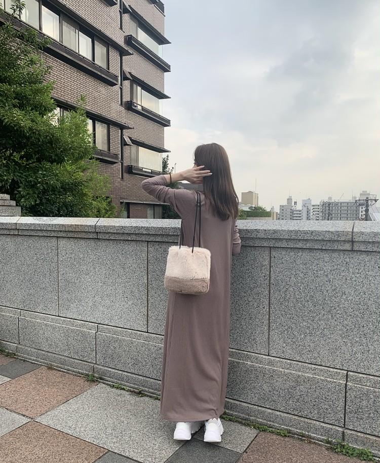 秋冬の甘カジュブラウンワントーンコーデ♡_6