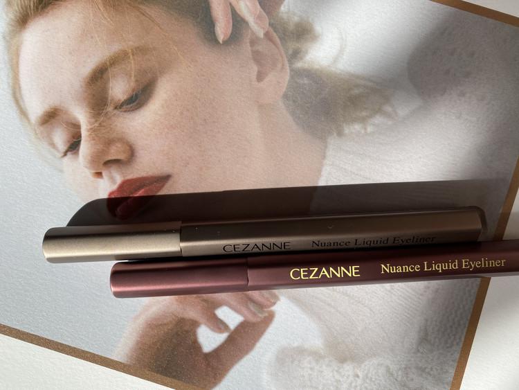 【目元にニュアンス】CEZANNEのアイライナーはお値段以上のクオリティ!_1