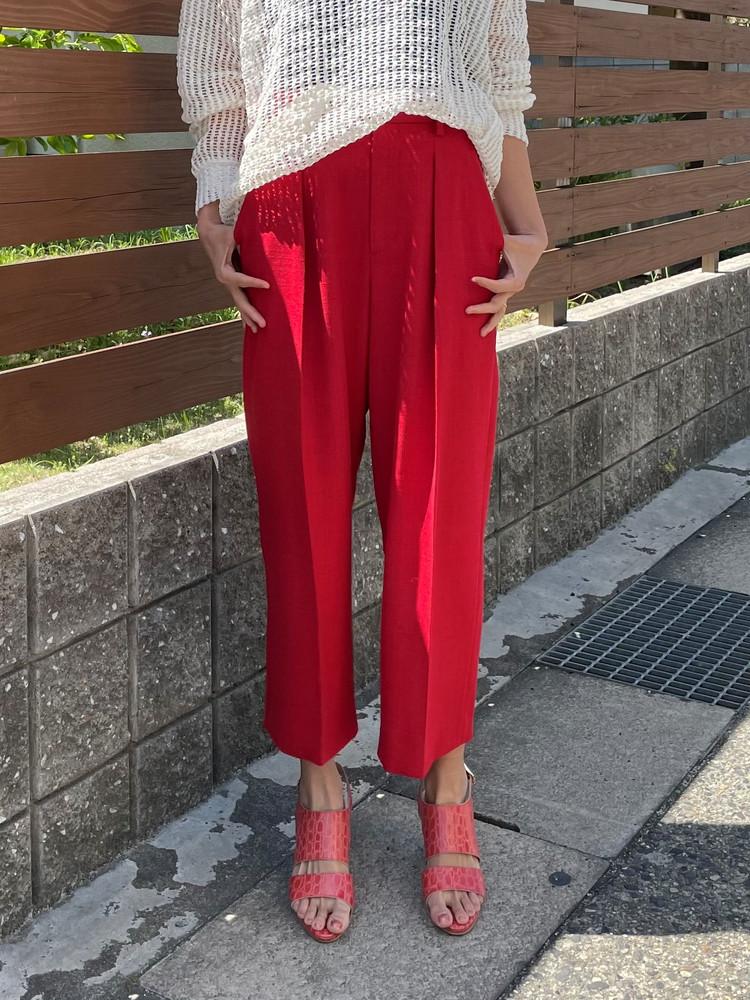 春にまとう<赤パンツ>がおしゃれ!買って正解お気に入りパンツ_1_1