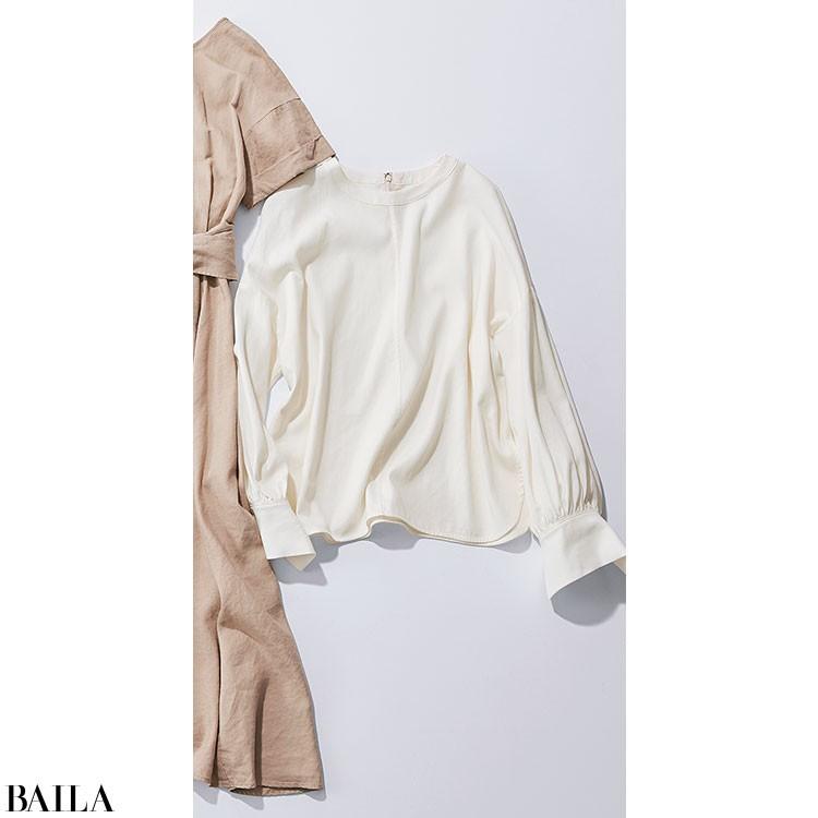 バタバタの金曜は、フェミニン配色のパンツスタイル【2020/6/5のコーデ】_2_1