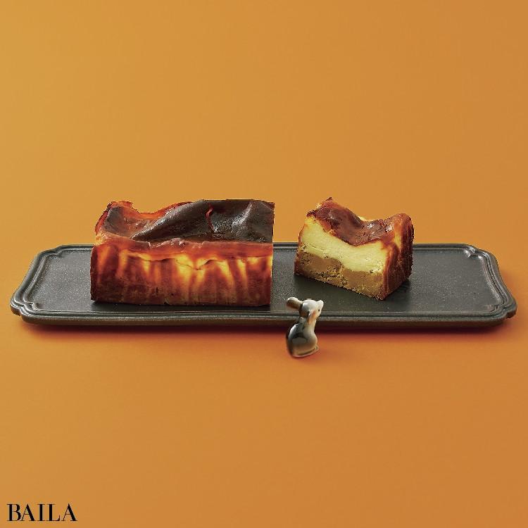 安納芋を使った注目のスイーツブランド【& OIMO TOKYOの ~3つ星シェフパティシエによる絶品お芋スイーツ~ 蜜芋バスクチーズケーキ 】