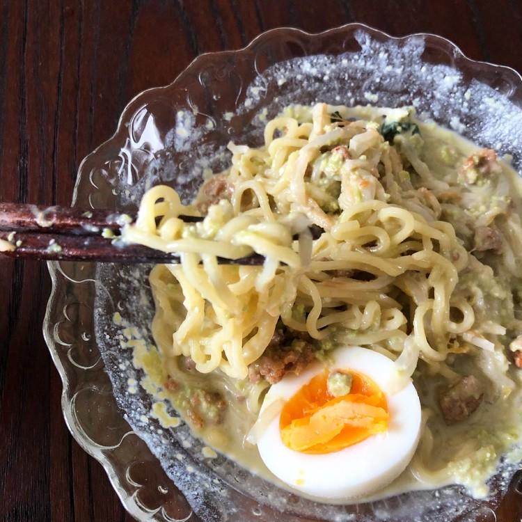 夏にピッタリ‼︎相葉マナブの「枝豆の汁なし坦々麺」作ってみた_3