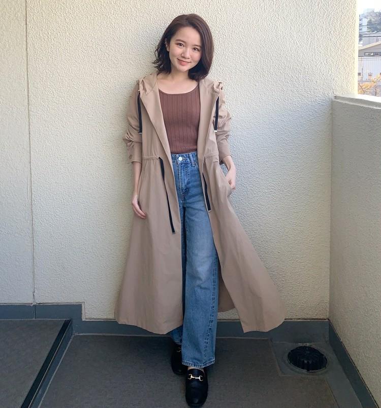 BAILA_石本愛衣_150cm_マウンテンパーカー