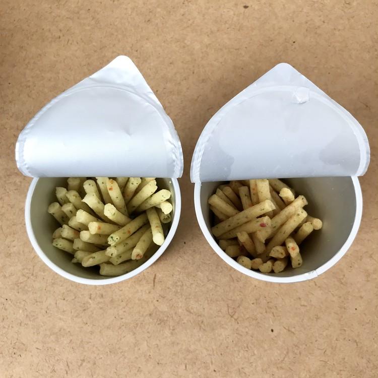 お湯を注ぐだけで簡単おいしい【じゃが湯りこ VS じゃがりこ】ポテトサラダ食べ比べ!_5