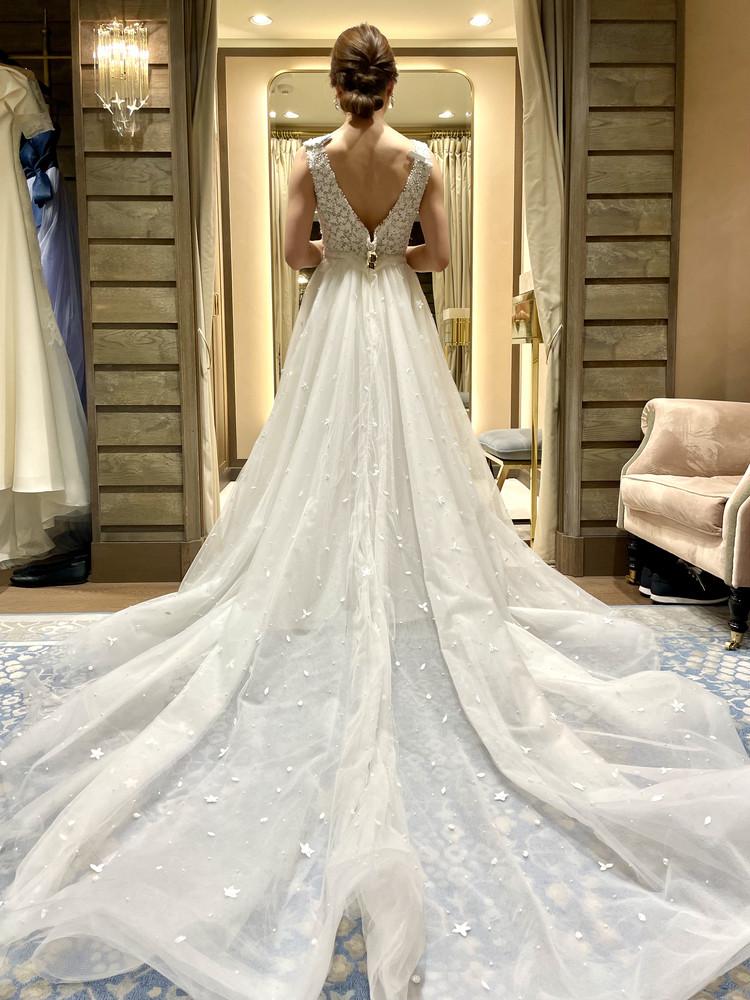 準備再開【パレス花嫁】2021SS新作ドレスを試着しました♡_2