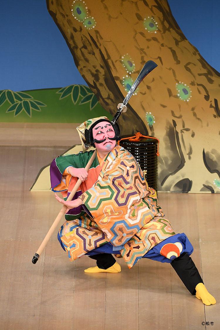 壽 初春大歌舞伎の「悪太郎」を演じる市川猿之助