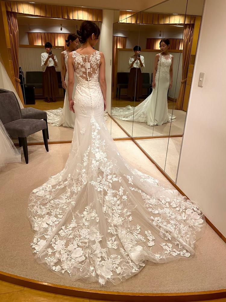 【Wedding】ドレス試着すべて見せます♡/後半①_2_1
