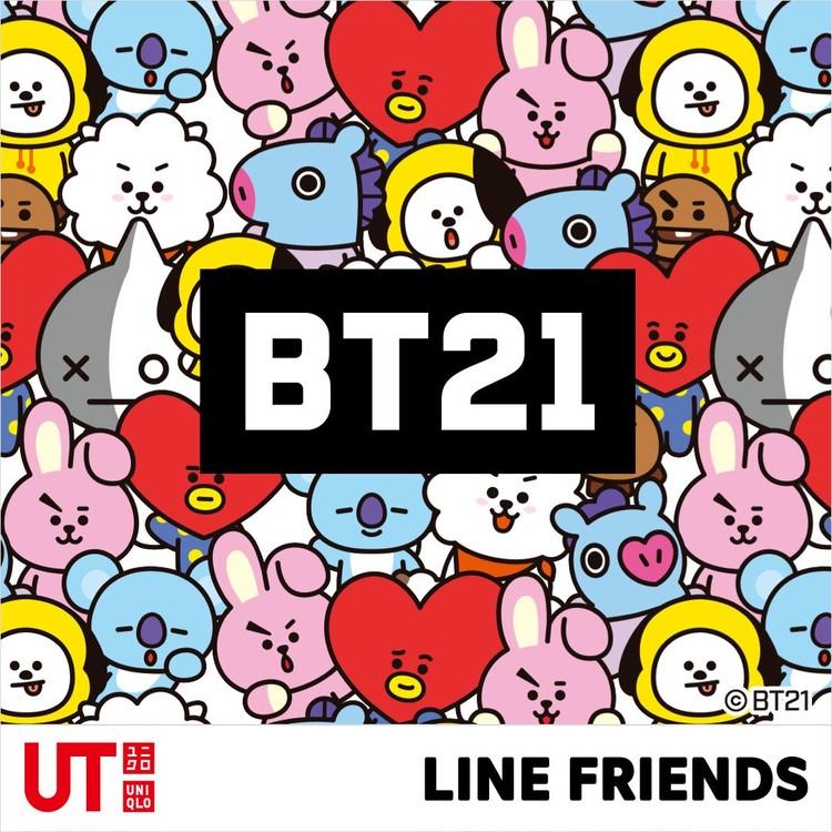 BTS(防弾少年団)&LINE公式キャラBT21×【ユニクロ(UNIQLO)】UTコラボTシャツ爆誕♡_1