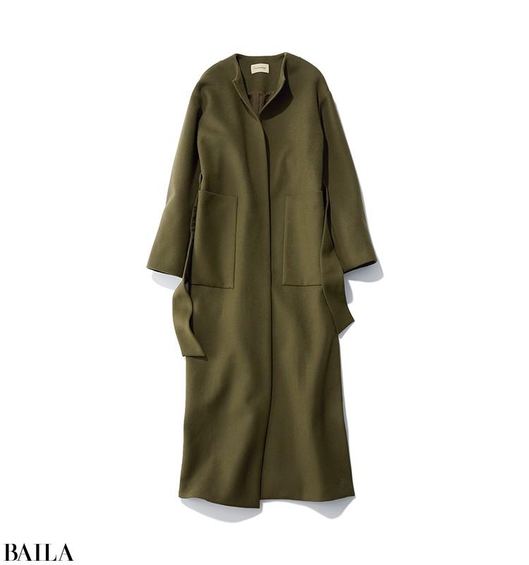 彼への贈り物を探しに行く日は、コートも脱いでも美バランスなパンツスタイル【2020/1/26のコーデ】_2_1