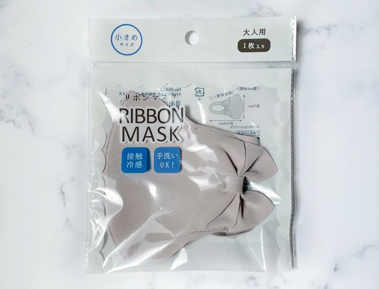 リボンマスクのパッケージ