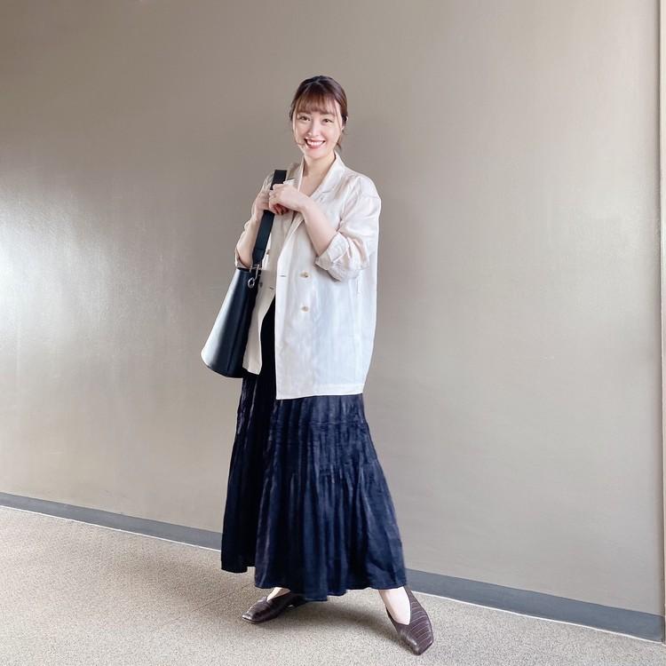 【ユニクロ秋冬】秋口まで使える◎新作プリーツスカートを着回し!_2