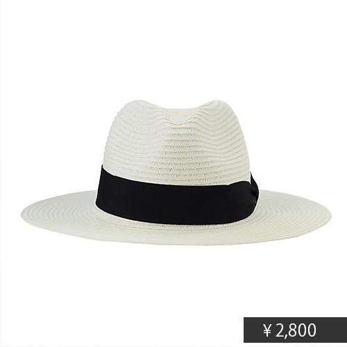今年の帽子選びは「真っ白&つば広」がキーワード_9